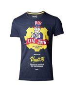 Difuzed Fallout 76 - Vault 76 Poster Men's T-Shirt (S) (New)