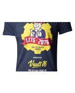 Difuzed Fallout 76 - Vault 76 Poster Men's T-Shirt (L) (New)