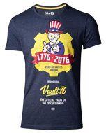 Difuzed Fallout 76 - Vault 76 Poster Men's T-Shirt (XL) (New)