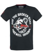 Difuzed Day's Gone - Broken Road - T-Shirt (s) Black (New)