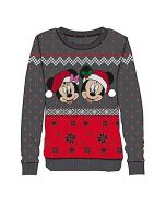 Disney - Mickey & Minnie Christmas Women's Sweatshirt (XL) (New)