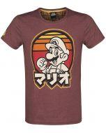 Difuzed Nintendo - Retro Mario T-Shirt (XXL) Red (New)