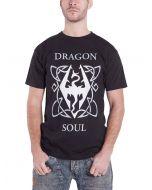 The Elder Scrolls - Dragon Soul Men's T-Shirt (l) Black (New)