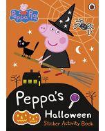 Peppa Pig: Peppa's Halloween Sticker Activity Book (New)