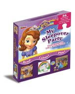 Disney Sofia the First Story & Jigsaw Carry-Along Box (New)
