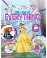 Disney Princess My Book of Everything: Stories, Stickers, Colouring and Activities (New)
