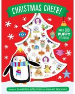 Christmas Cheer Puffy Sticker Book (Activity Books) (New)