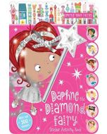 Daphne the Diamond Fairy Sticker Activity Book and Wand Pen (New)