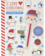 I Love Christmas (Activity Books) (New)