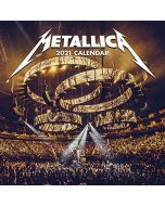 Metallica 2021 Unisex Wall Calendar multicolour, Paper, (New)