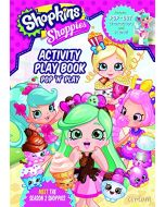 Shopkins Shoppies Press Out & Play Activity Book (New)