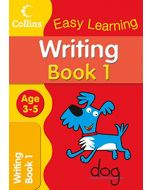 Writing Age 3–5: Book 1 (Collins Easy Learning Age 3-5) (New)