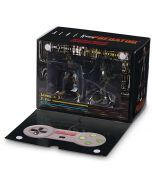 Alien & Predator Statue SNES Video Game Paint Variant Box Set (New)