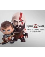 God of War Kratos & Atreus Mini Figures (Gaming Heads)