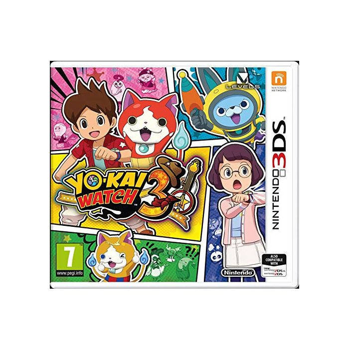 Yo-Kai Watch 3 (Nintendo 3DS) (New)