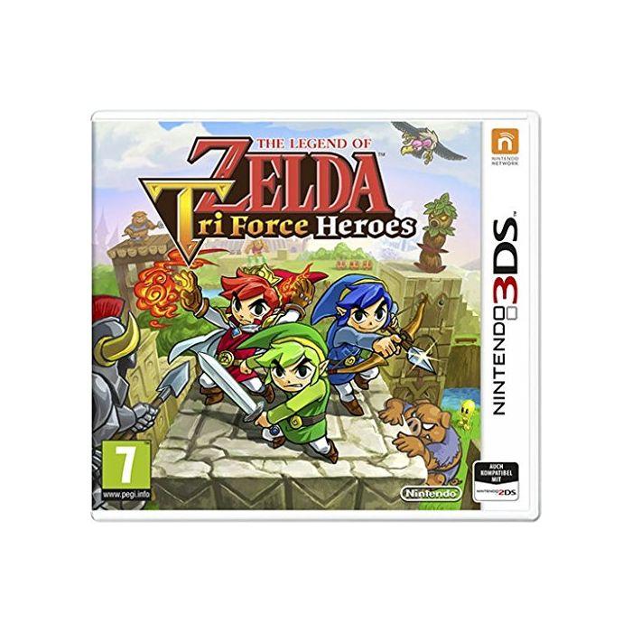 The Legend of Zelda: Tri Force Heroes (German Import) (3DS) (New)