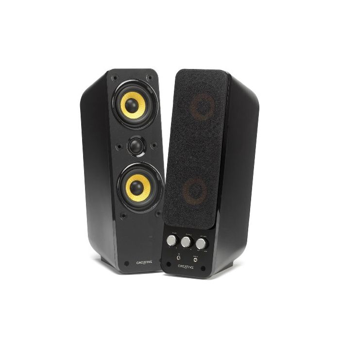 Creative GigaWorks T40 Series II (2.0) Multimedia Speakers with MTM Audiophile Configuration and BasXPort Technology (New)