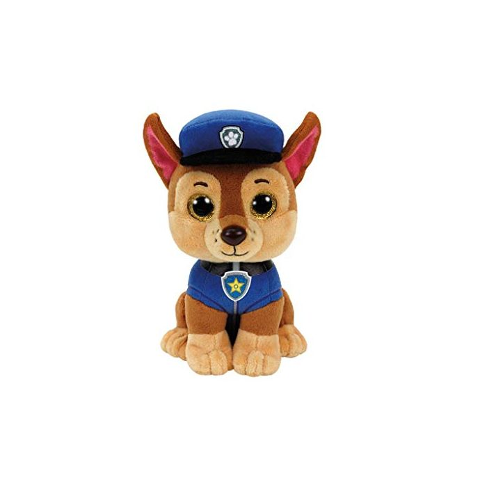 TY 41208 Paw Patrol - Chase with Glitter Eyes 15 cm (New)