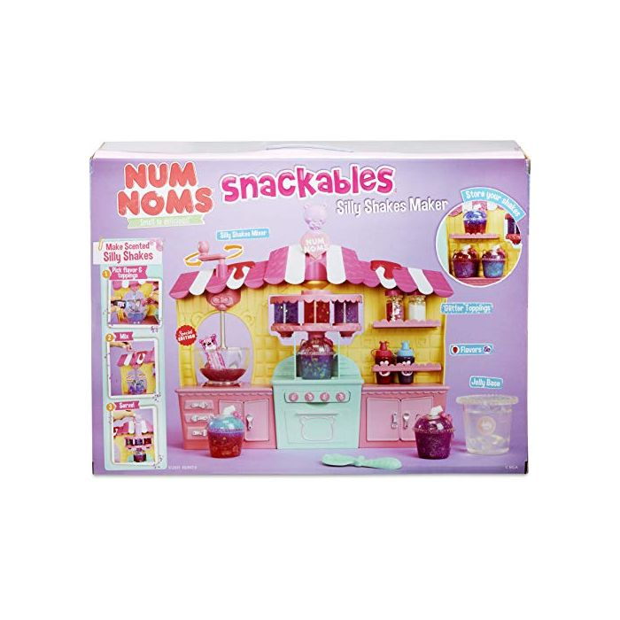 Num Noms Snackables Silly Shakes Maker Playset Collectable (New)
