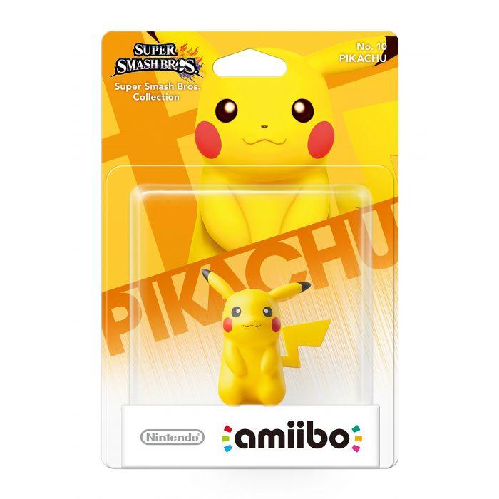 Pikachu No.10 amiibo (Nintendo Wii U/3DS) (New)
