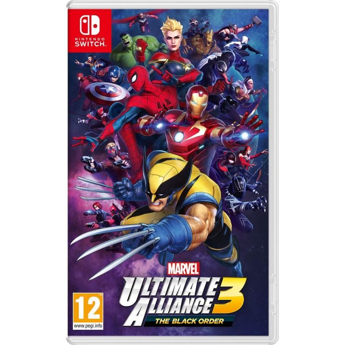 Marvel Ultimate Alliance 3: The Black Order (Nintendo Switch) (Italian Import) (New)