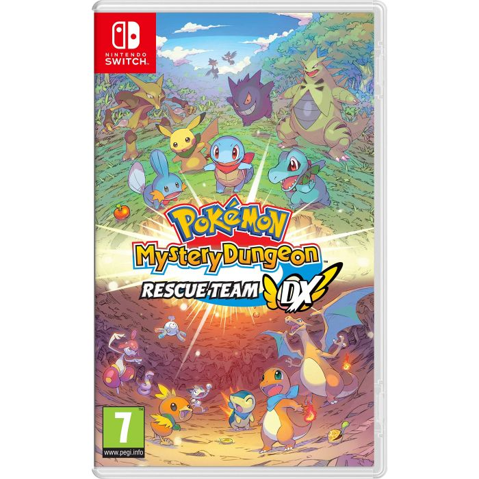 Pokemon Mystery Dungeon: Rescue Team DX (Nintendo Switch) (New)