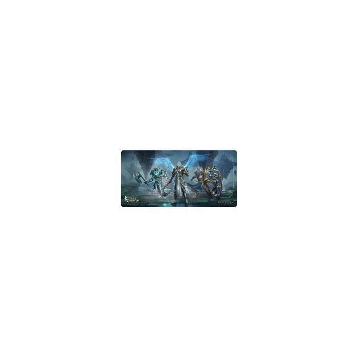 White Shark WS-TMP-ASCENDED TMP-110 1375 x 675 mm Phageborn Gaming Mousepad - Black/Blue (New)