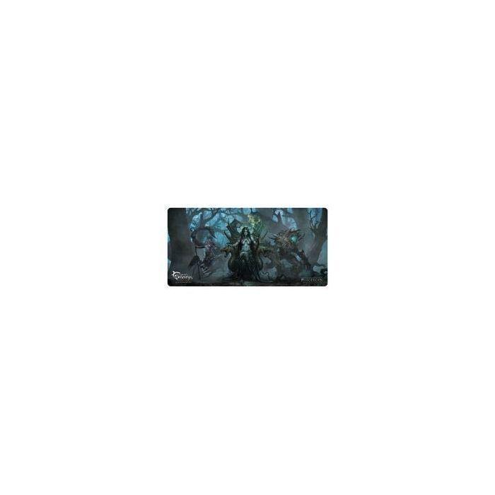 White Shark WS-TMP-VESTIGE TMP-114 1375 x 675 mm Gaming Mousepad - Black/Green (New)