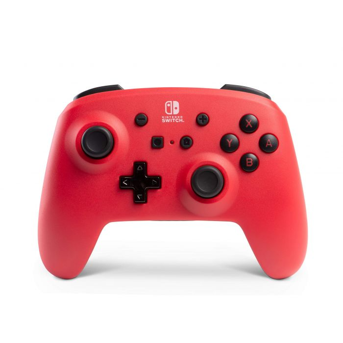 Enhanced Wireless Controller For Nintendo Switch - Red (Nintendo Switch) (New)