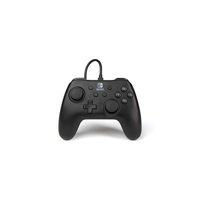 Nintendo Switch Wired Controller/Gamepad - Matte Black (New)