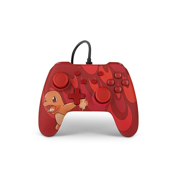 Wired Officially Licensed Controller For Nintendo Switch - Blaze Charmander (New)