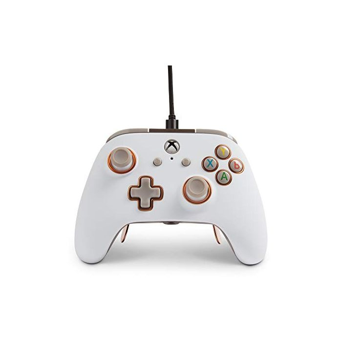 PowerA Fusion Pro Wired Controller For Xbox One - White (New)