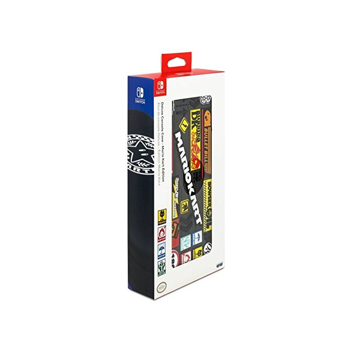 Mario Kart Deluxe Travel Case for Console and Games - 500-046-EU (Nintendo Switch) (New)