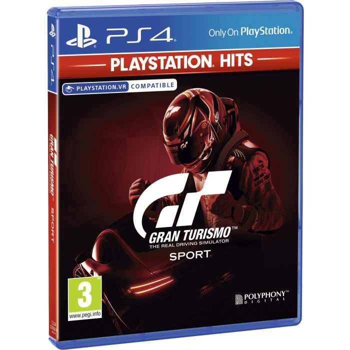 Gran Turismo: Sport Playstation Hits (PS4) (Preowned)
