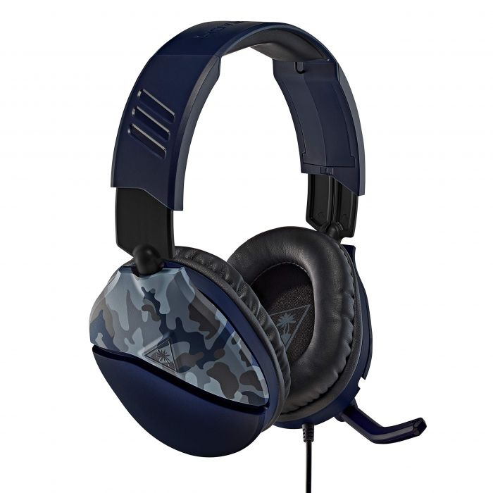 Turtle Beach Recon 70 Blue Camo Gaming Headset - PS4, Xbox One, Nintendo Switch and PC (New)
