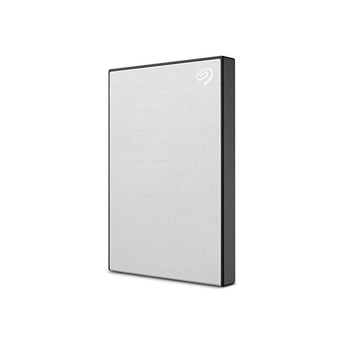 Seagate 1TB Backup Plus Slim Portable External Hard Drive + 1yr Mylio Create + 2mo Adobe CC Photography, Silver (STHN1000401) (New)