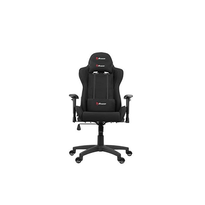 Arozzi Mezzo V2 Gaming Chair - Fabric - Black (New)
