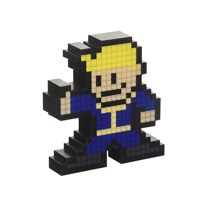 PDP Pixel Pals Fallout 4 Vault Boy Collectible Lighted Figure, 878-021-NA-VLT-NB (New)