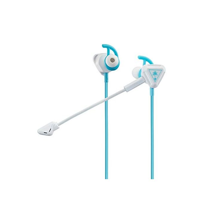 Turtle Beach Battle Buds In-Ear Gaming Headset (White/Teal) (Switch / Xbox One / PS4) (New)