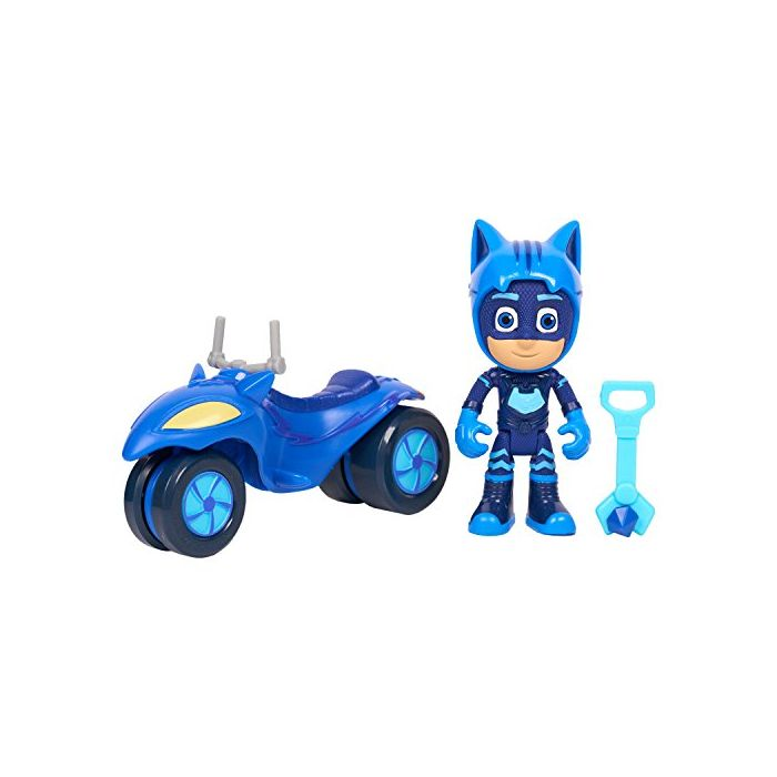 JP PJ Masks JPL95111 Super Adventure Catboy Moon Rover Figure and Vehicle (New)