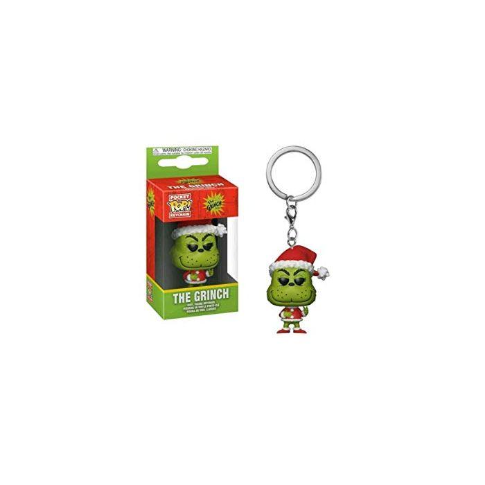 Dr Seuss - Grinch Christmas Pocket Pop! Keychain (New)