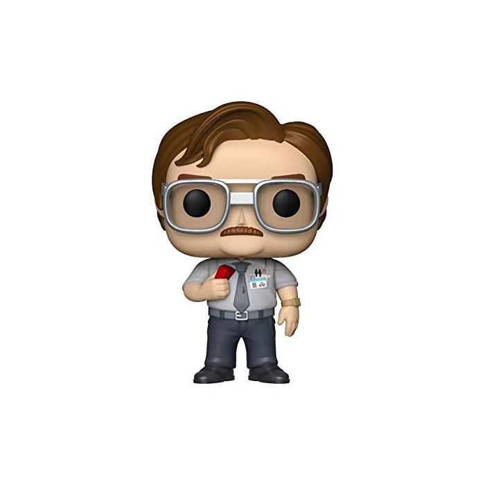 Funko 36958 POP Movies: Office Space-Milton Waddams Collectible Figure, Multicolor (New)