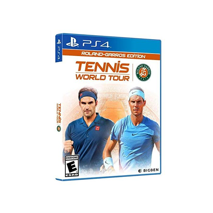 Tennis World Tour Roland-Garros Edition for PlayStation 4 (New)