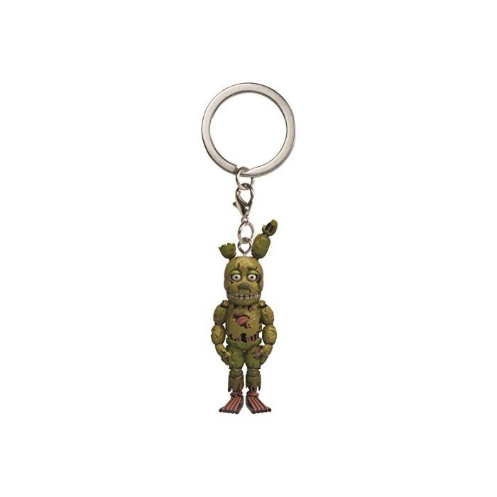 Five Nights at Freddy's Springtrap Keychain (New)