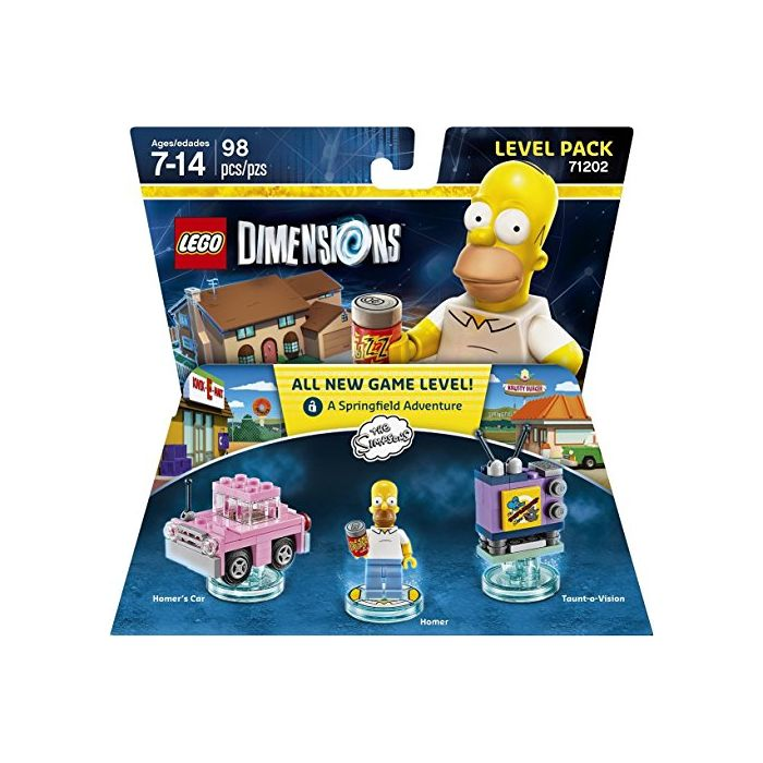 Simpsons Level Pack - LEGO Dimensions (New)
