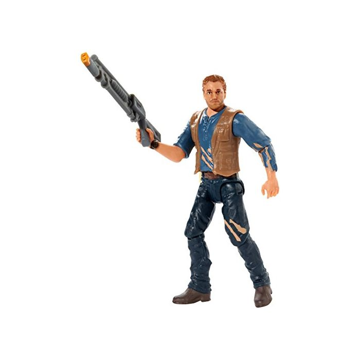 Jurassic World FMM07 Basic Figure Owen Mercenary (New)