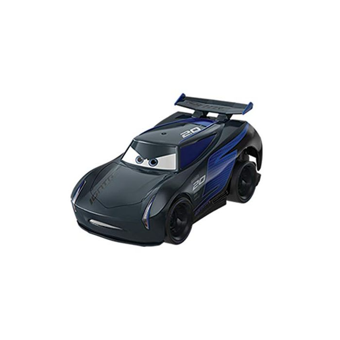 Disney Pixar Cars FYX41 Pixar Cars Turbo Racers Jackson Storm, Multicoloured (New)