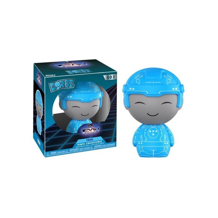 Funko 11318 Dorbz Classic Tron (Styles May Vary) Chase Figure, Multi, 7.62 cm (New)