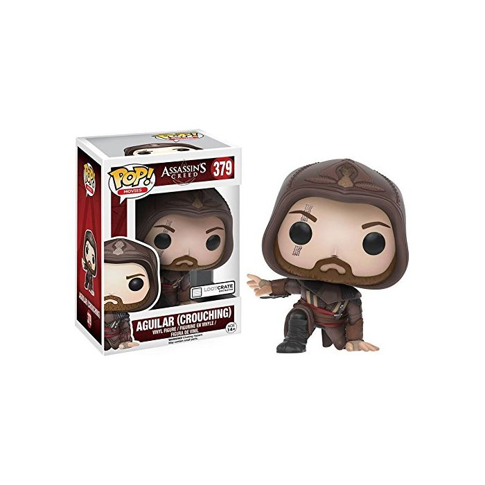 Funko POP Assassin's Creed Aguilar (Crouching) Pop Movies Figure Loot Crate (Nintendo Switch//xbox_one/) (New)