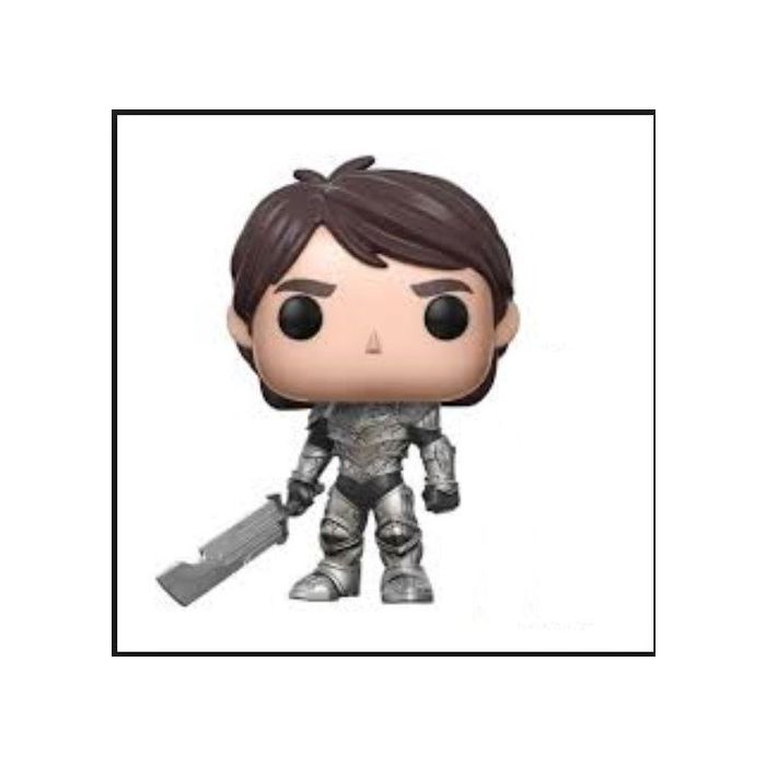Funko POP Trollhunters #466 Armored Jim with Gnome Vinyl Figure (New)